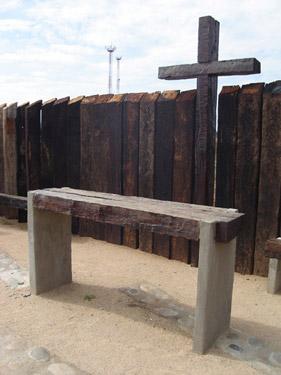 Lugar de Oracion en el Cementerio de Pelarco